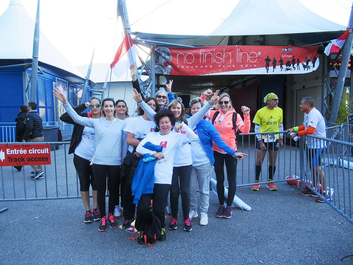 Participation à la No-Finish Line 2017 à Monaco organisée par l'association Children & Future